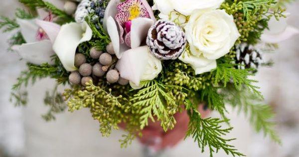 Winter bouquet - photo