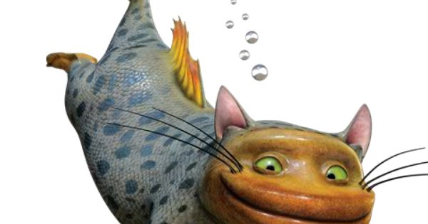 The croods fish cats are creatures with the body of a for Fish videos for cats