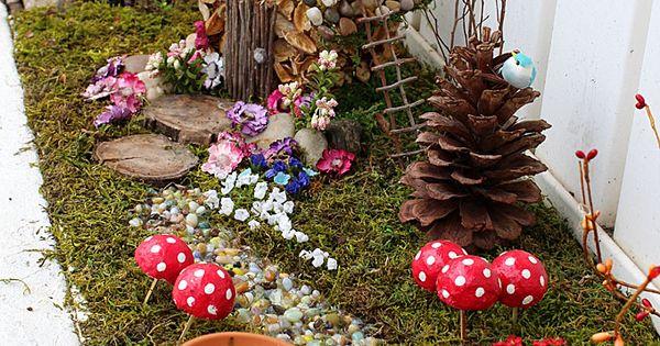 15 ideas increibles para la decoraci n jardines for Decoracion jardin gnomos