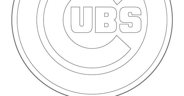 Chicago cubs logo coloring pages sketch coloring page for Cubs coloring pages