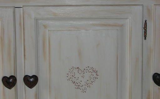 Peindre des meubles bois vernis conseils d coration poncer peintures applique - Poncer bois avant peinture ...