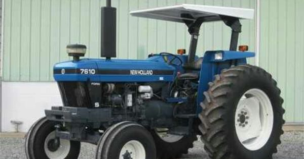 1998 New Holland 7610s New Holland Tractor Tractors Ford Tractors