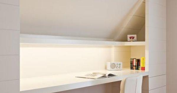 langer schreibtisch unterm dach kniestock 1m marina pinterest langer schreibtisch. Black Bedroom Furniture Sets. Home Design Ideas