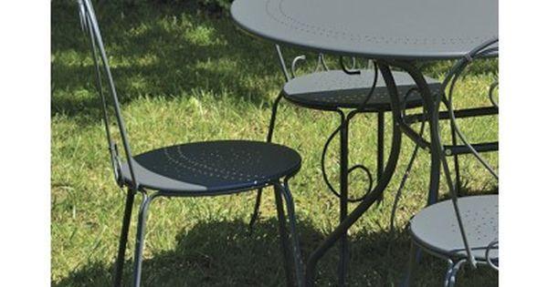 Table De Jardin Romantique Ovale Metal Gris 6 Chaises Salon De Jardin Gris Table De Jardin Jardin Romantique
