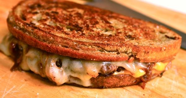 Patty melts, Serious eats and Rye bread on Pinterest