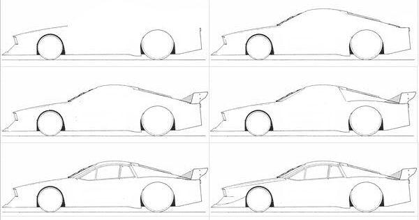 Comment dessiner une voiture facilement dessins - Voiture simple a dessiner ...