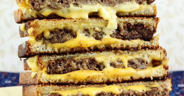 Award Winning Grilled Cheese Burgers - Ingredients Meat 1 ...
