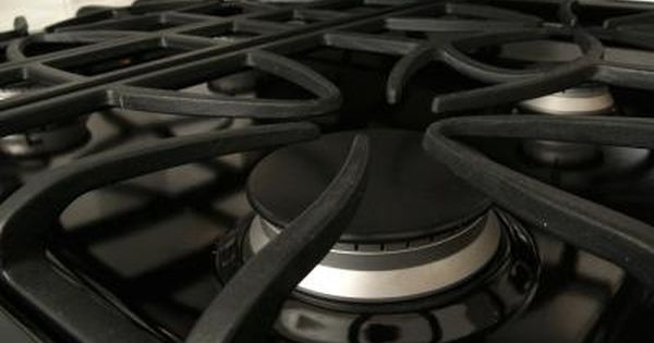 How To Clean The Cast Iron Grates On A Gas Range Hunker Clean Stove Grates Clean Stove Natural Oven Cleaning