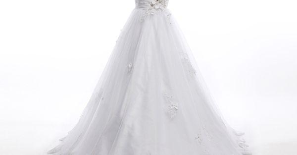 Elegant sweetheart wedding dress