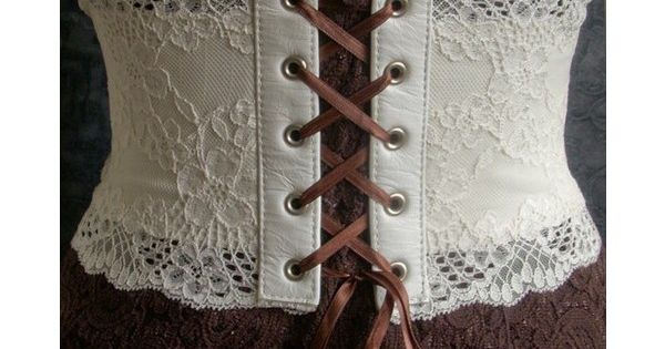 Beautiful lace corset belt by kvodesign on Etsy (check out this shop!)