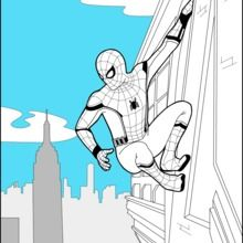Spider Man Homecoming 2 Coloring Page You Can Print Out For Free