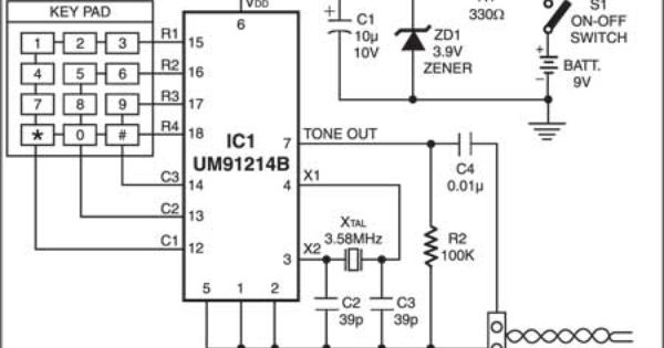 keypad control for multiple appliances