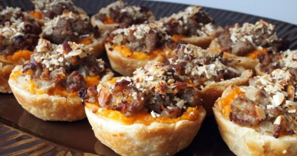 Mini Maple Sweet Potato Pies #recipe | Mini pies | Pinterest