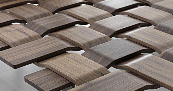 Weaving wood? PORADA ARREDI SRL