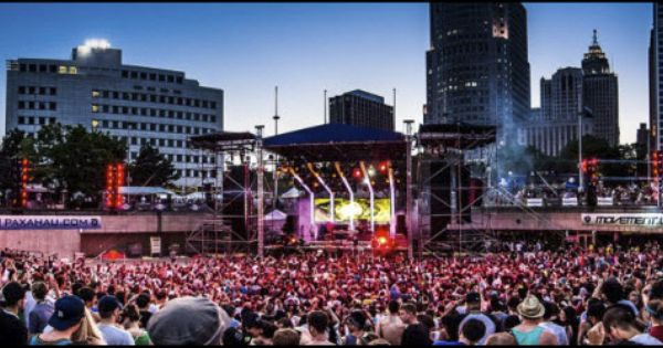 Detroit Electronic Music Festival Held Annually Over The Memorial
