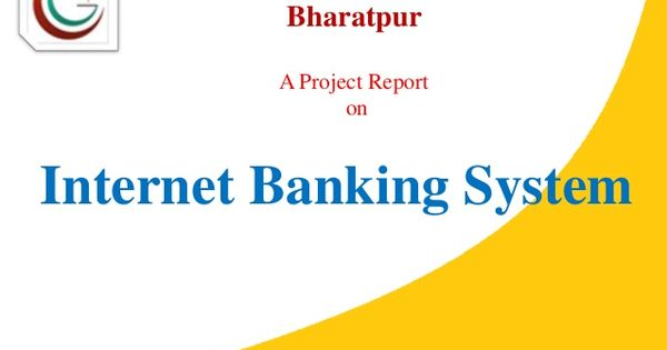 java Project report online banking system monish Pinterest - project report