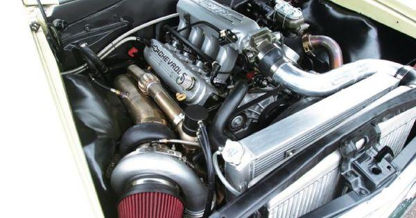 Justin Nall Single Turbo Ls Engine Engines Pinterest