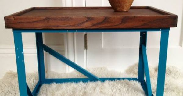 San Francisco Modern Industrial Coffee Table Side Table 60