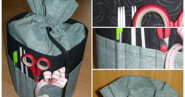 strickbeutel aufbewahrung f r strickzeug hobbyschneiderin 24 forum sewing pinterest. Black Bedroom Furniture Sets. Home Design Ideas