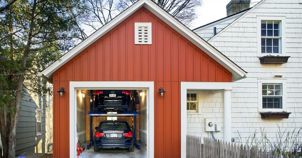 Small single car garage dimensions google search home for Garage con studio