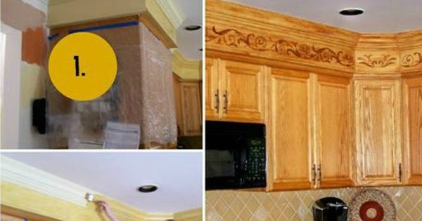 Do Something With The Soffit Above The Cabinets How To 39 S Pinterest Dress Up Ideas And Blog