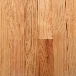 Bruce American Originals Natural Red Oak 3 4in T X 2 1 4 In W X Varying L Solid Hardwood Flooring 20 Sq Ft Case Shd2210 The Home Depot Solid Hardwood Floors Prefinished Hardwood Floors Red