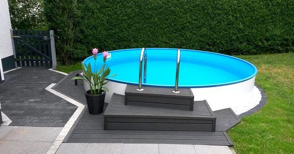 ein kleiner pool im garten die perfekte m glichkeit. Black Bedroom Furniture Sets. Home Design Ideas