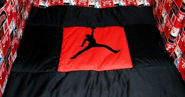 Michael Jordan Chicago Bulls Baby Bedding I Made