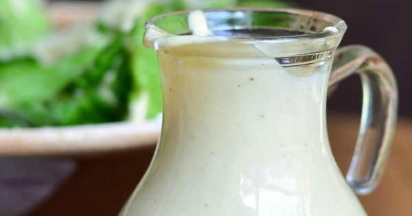 how to make caesar salad dressing from scratch without anchovies