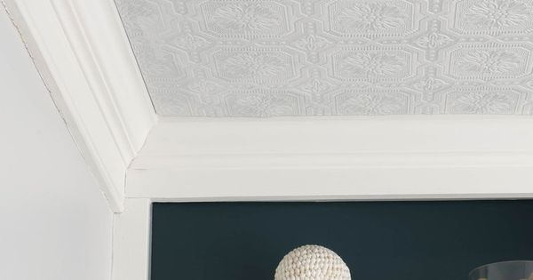 10 textured wallpaper projects kitchen ceilings tins for Textured kitchen wallpaper