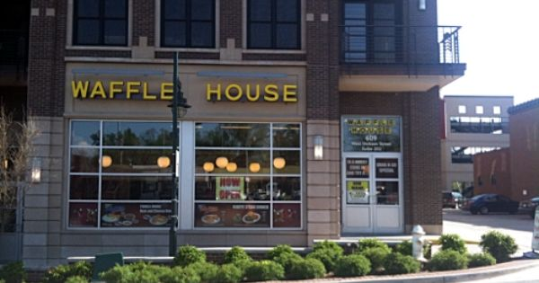 Dickson Street Waffle House Provides Dependable Anchor After Evening S Indulgen Waffle House House Dickson Street