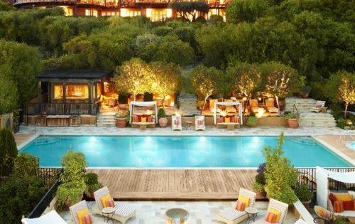 Auberge du Soleil Main House & Pool Napa Valley, California