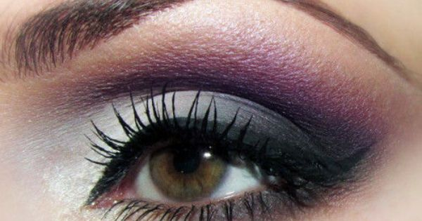 Eye Makeup: Purple haze. Photo tutorial here. make up eyeshadow