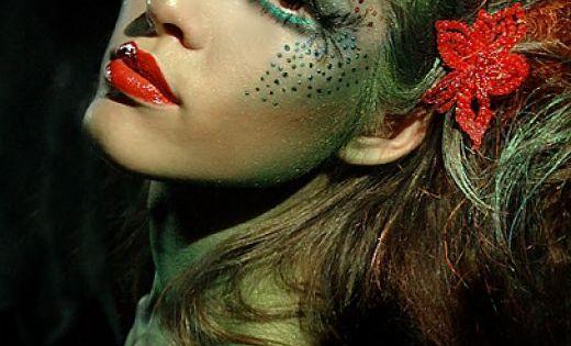 Inspiration Make Up: Green Woodland Fairy Makeup Idea