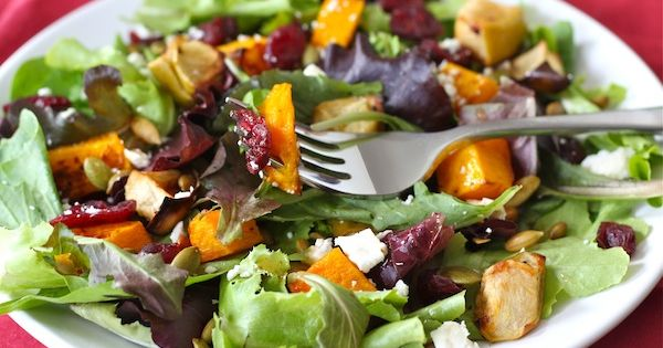 ... butternut, Roasted butternut squash and Apple salad on Pinterest