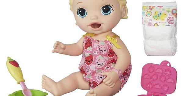 Hasbro Baby Alive Super Snacks Snackin Lily Blonde
