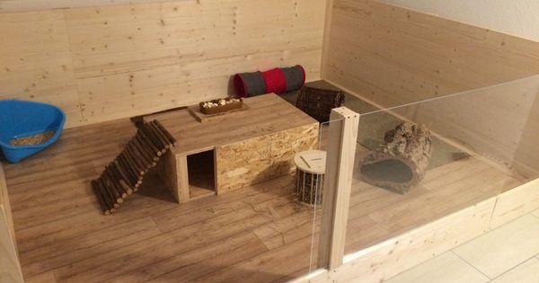 fertiges diy kaninchengehege f r innen rund um die katze und kaninchen pinterest diy and. Black Bedroom Furniture Sets. Home Design Ideas
