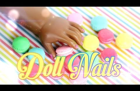 How To Make Painted Doll Nails Doll Crafts Youtube Doll Stuff Barbie Monster High
