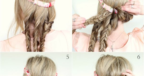 DIY hairstyles - photo