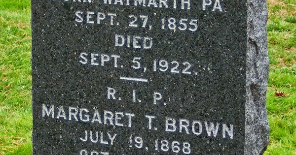 Margaret Quot Unsinkable Molly Brown Quot Brown Age 65 Cerebral
