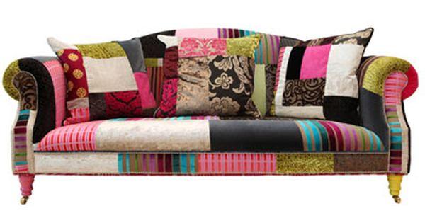vintage purple fabric    sofa on leather chesterfield sofa and, Hause deko