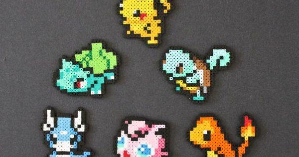 pokemon strijkkralen patronen - Google zoeken ...