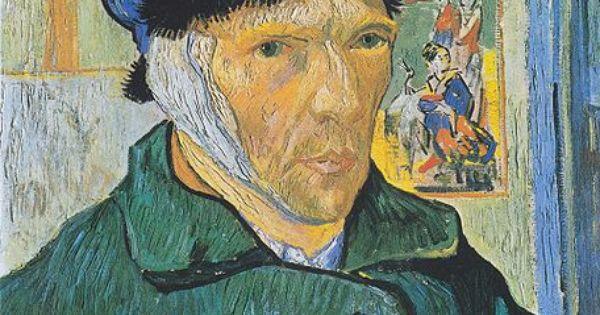 Vincent van gogh autoportrait l 39 oreille band e 1889 - Vincent van gogh autoportrait a l oreille coupee ...