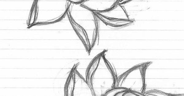 Simple Lotus Flower Tattoo Designs Lotus Flower Tattoo Designs