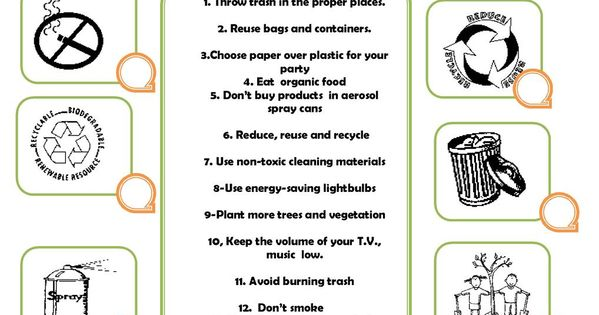 009 How to prevent pollution Gradjansko Pinterest