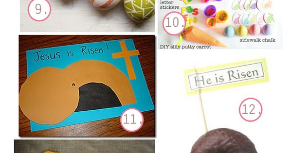 The Busy Budgeting Mama: DIY Easter Ideas - Kid Activities, Basket &