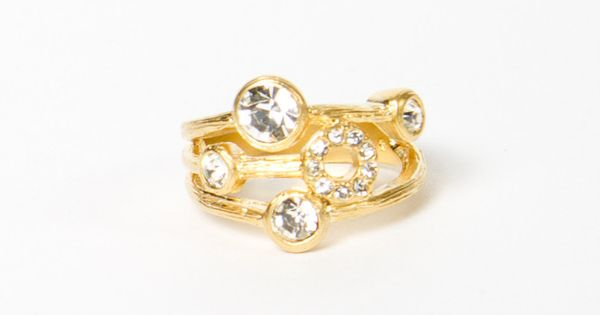 Circle Statement Ring $13 REMAKE> DIAMONDS