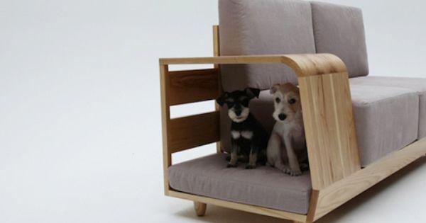 Dog house Sofa Korean designer Seungji Mun designed this incredibly unique folding