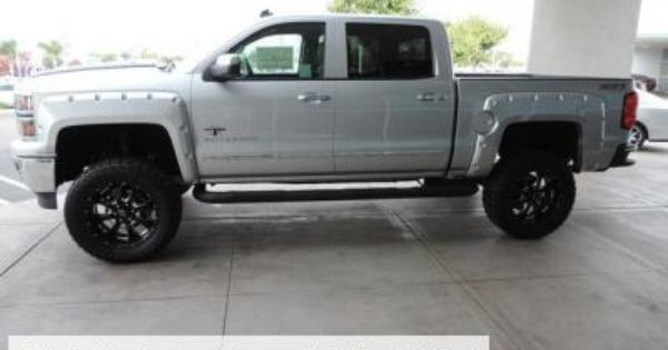 Lifted 2014 Chevy Silverado 1500 Southern Comfort Black Widow