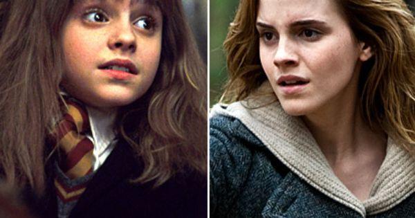 Harry Potter Stars: Then & Now | Hermione granger ...